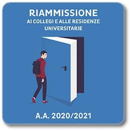 Riammissione ai Collegi e alle Residenze universitarie a.a. 2020/2021