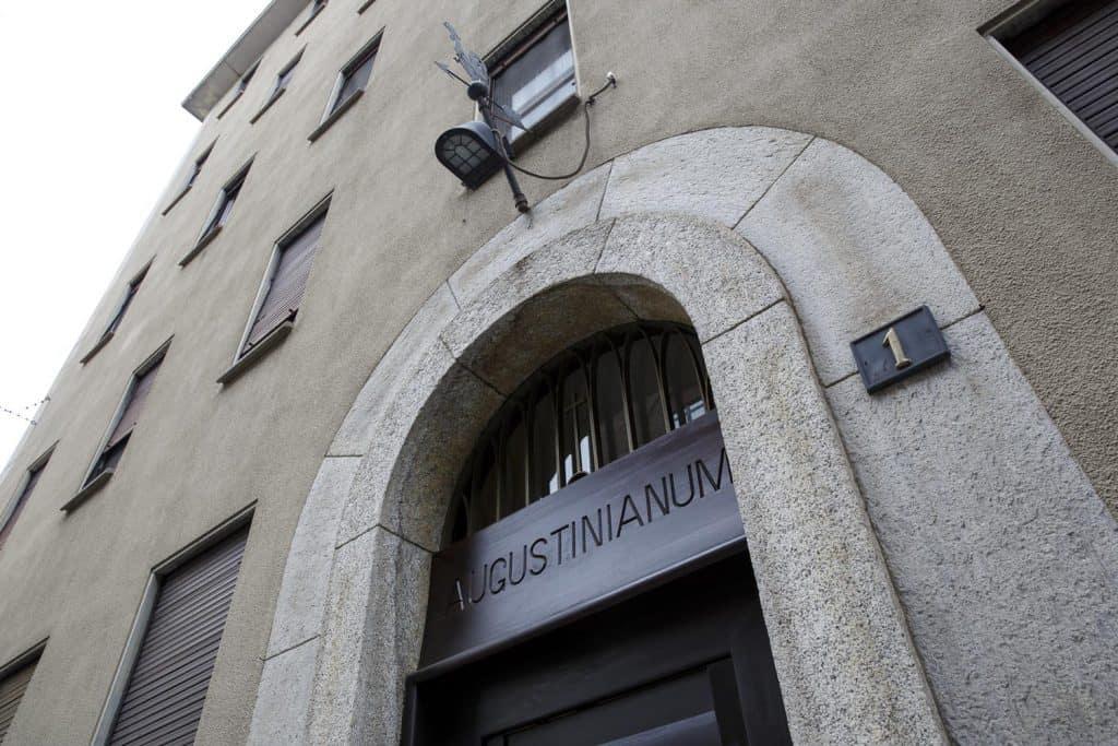 01 milano augustinianum Collegio Augustinianum