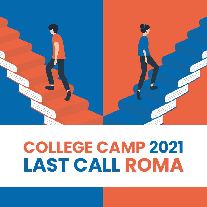 College Camp 2021 – Last call sede di Roma